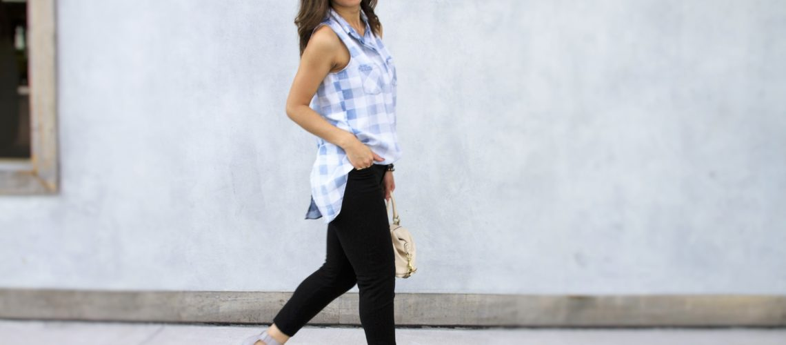 Street Chic Style - The Chambray Shirt