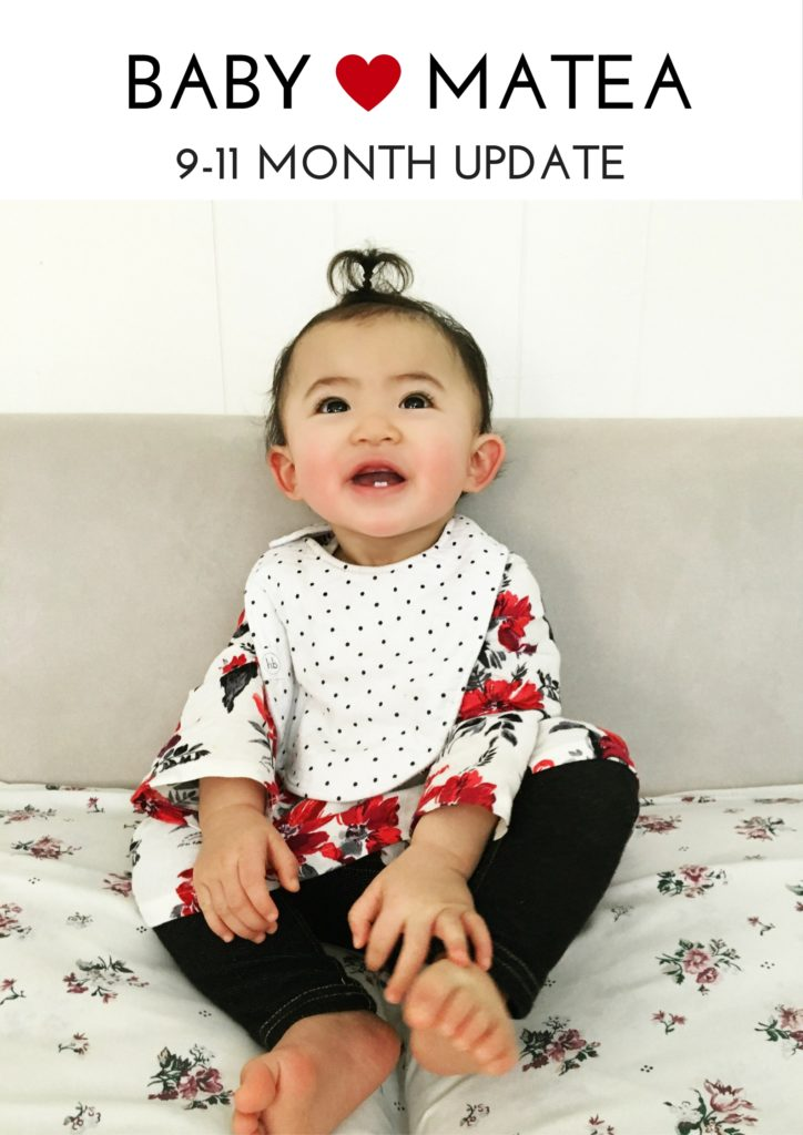 Matea baby matea: 9-11 month old baby update - a beautiful rawr