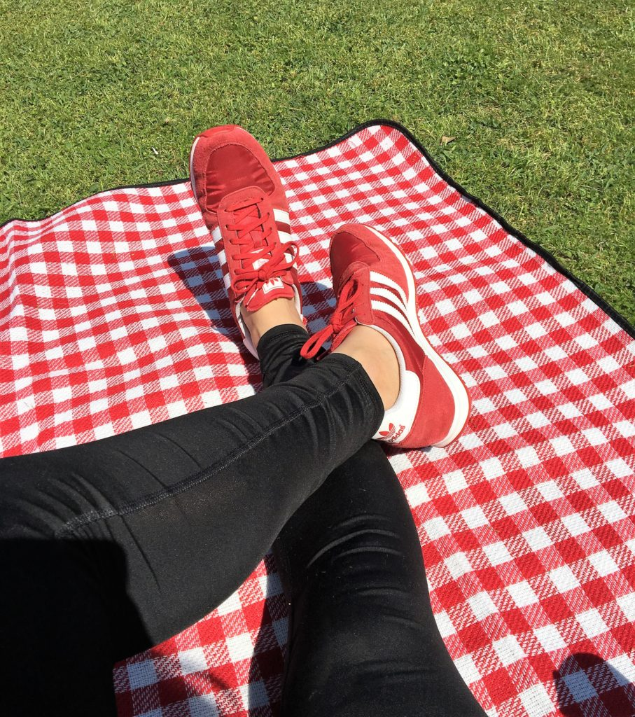 Red Adidas Sneakers