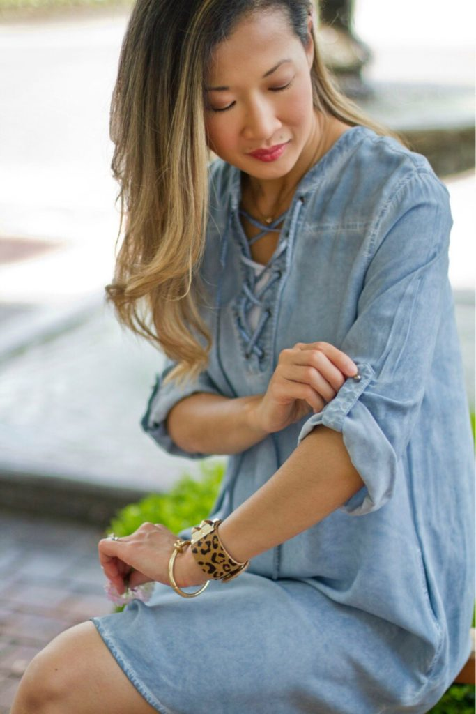 Chambray Street Chic Style