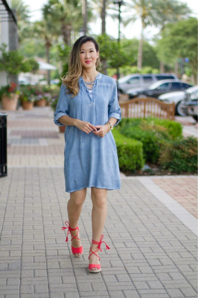Summer Dress Mom Style