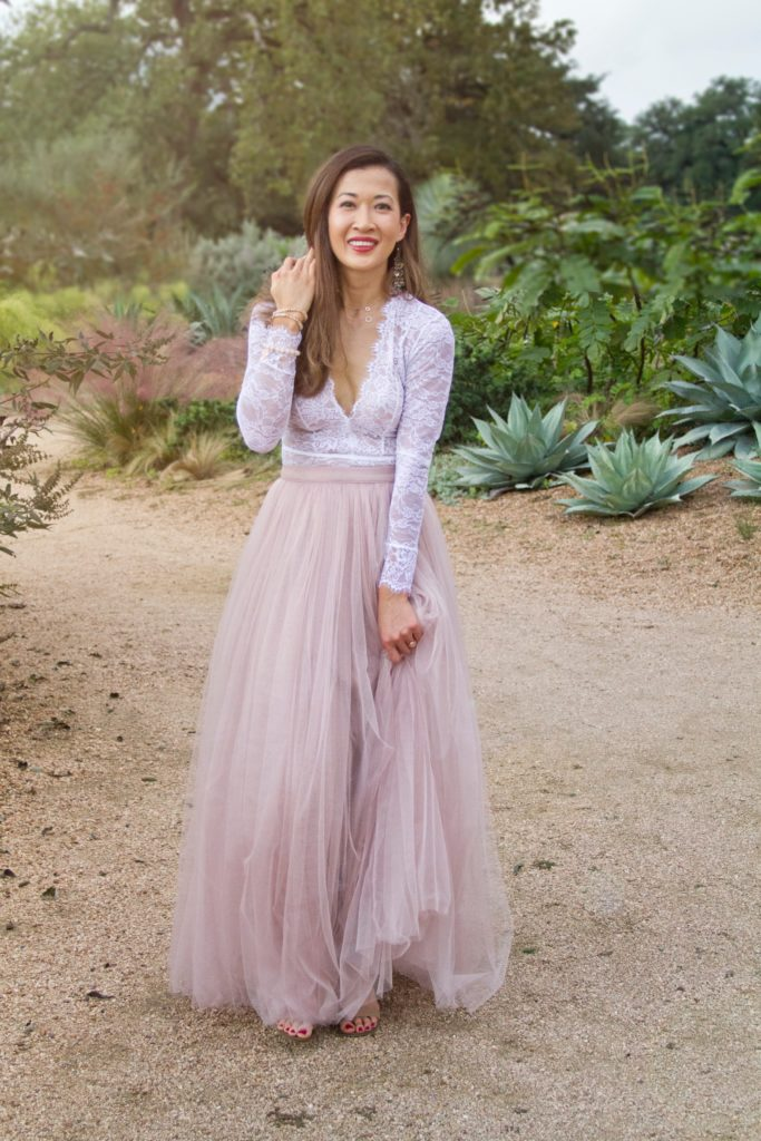 Special Occasion tulle holiday outfit