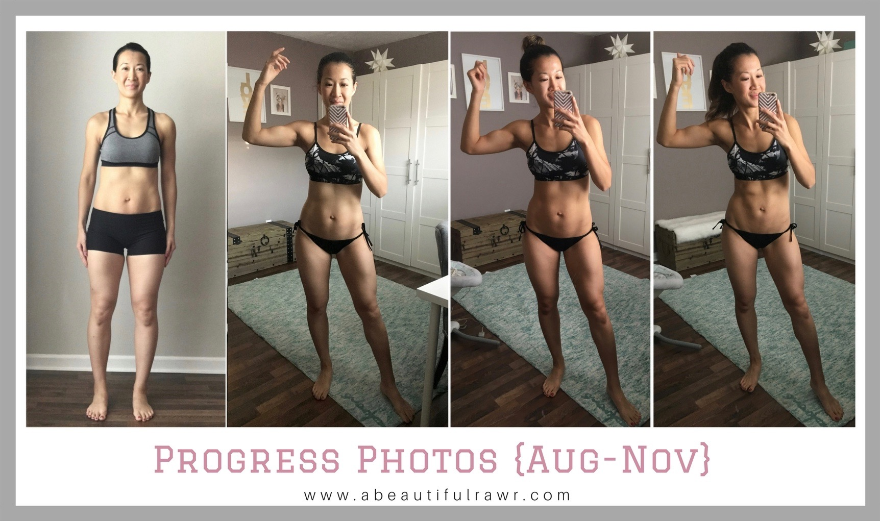 Fit Mom Transformation Before After