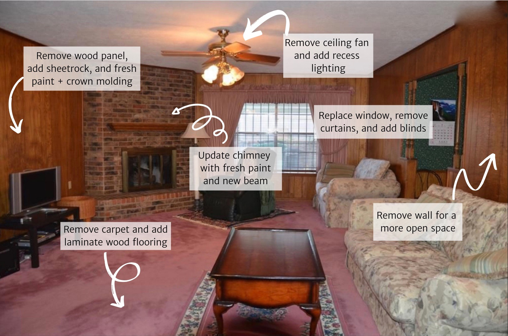 Image of: Small Living Room Makeover And Styling Tips A Beautiful Rawr